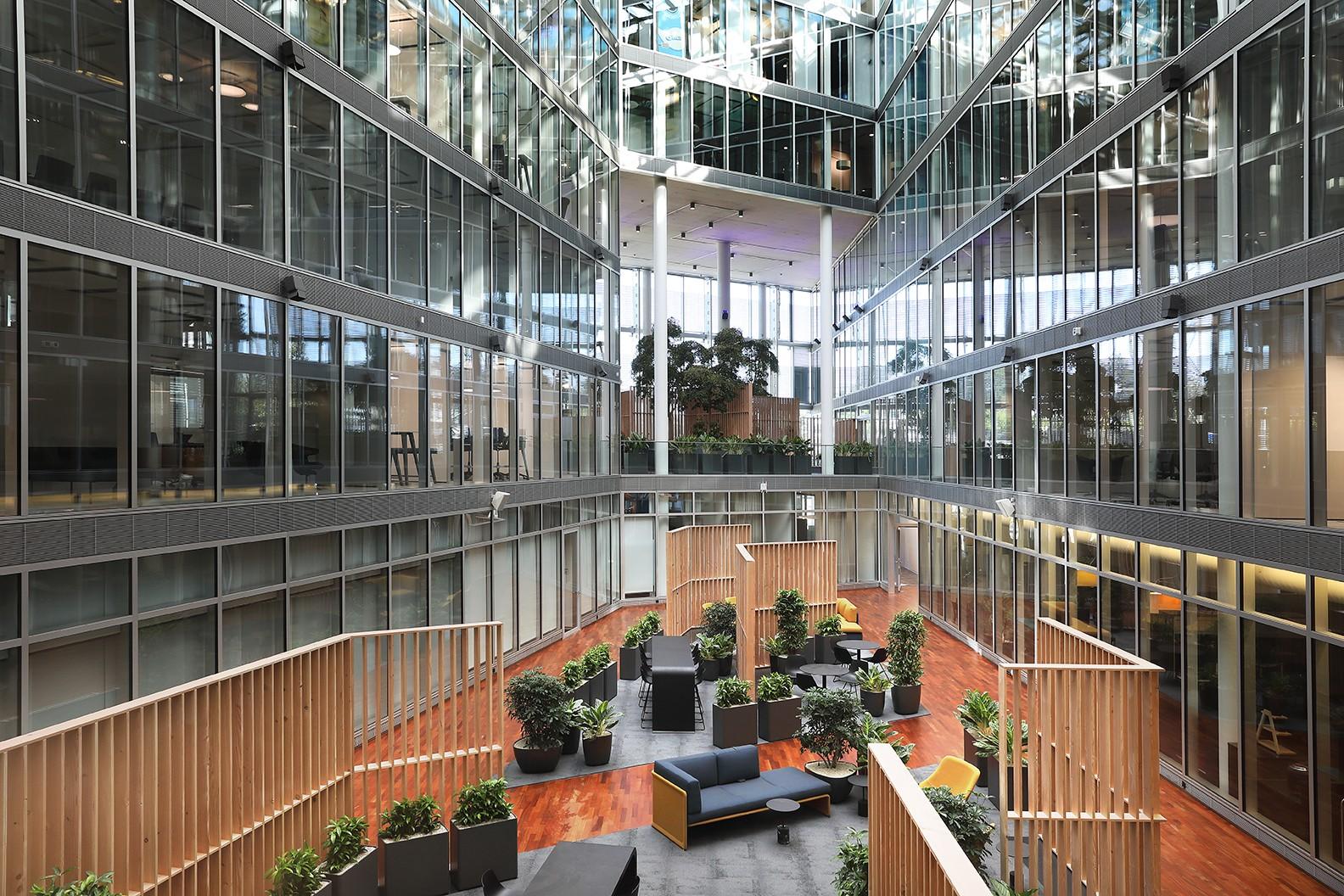 Allreal | Büroeinrichtung - Büroplanung - Innenausbau | WSA