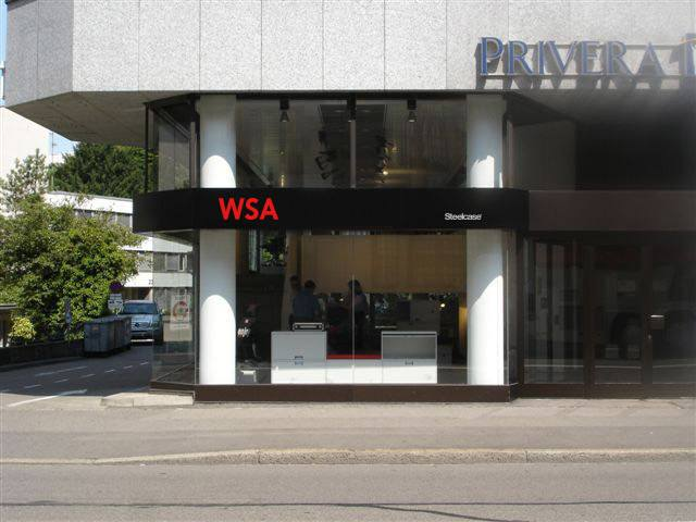 St.Gallen | Büroeinrichtung - Büroplanung - Innenausbau | WSA