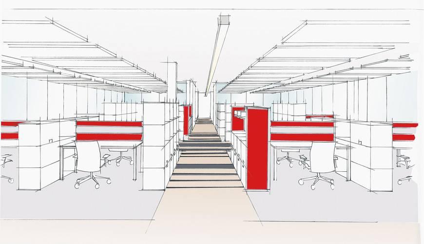 Planungsservice für Immobilienfirmen | Büroeinrichtung - Büroplanung - Innenausbau | WSA