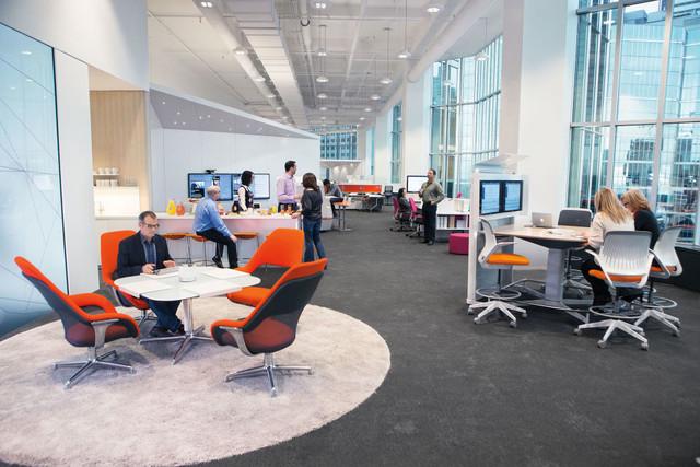 KOMMUNIKATIONSWELTEN   Büroeinrichtung - Büroplanung - Innenausbau   WSA