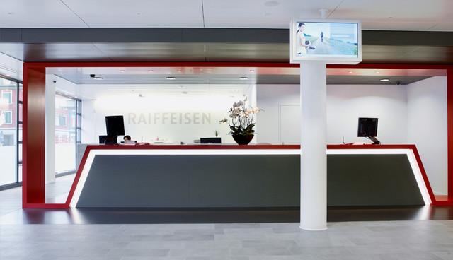 RAIFFEISEN, SCHLIEREN   Büroeinrichtung - Büroplanung - Innenausbau   WSA
