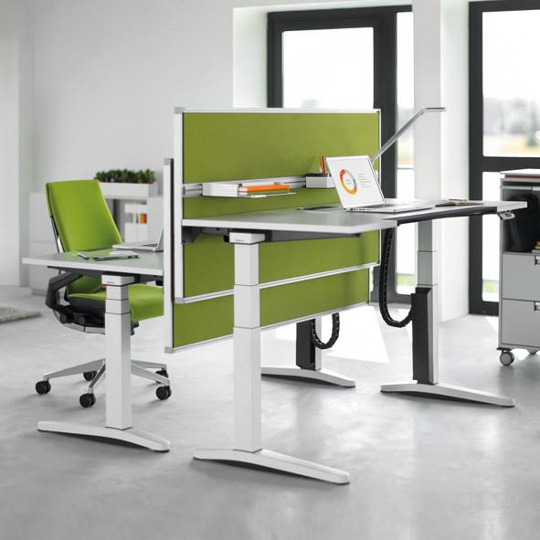 Steh-Sitzarbeitsplätze | Büroeinrichtung - Büroplanung - Innenausbau | WSA