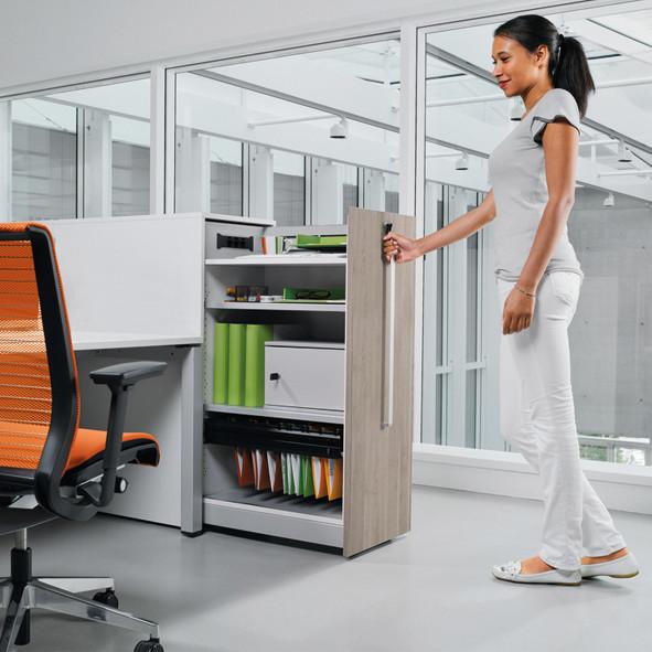 Stauraumsysteme | Büroeinrichtung - Büroplanung - Innenausbau | WSA