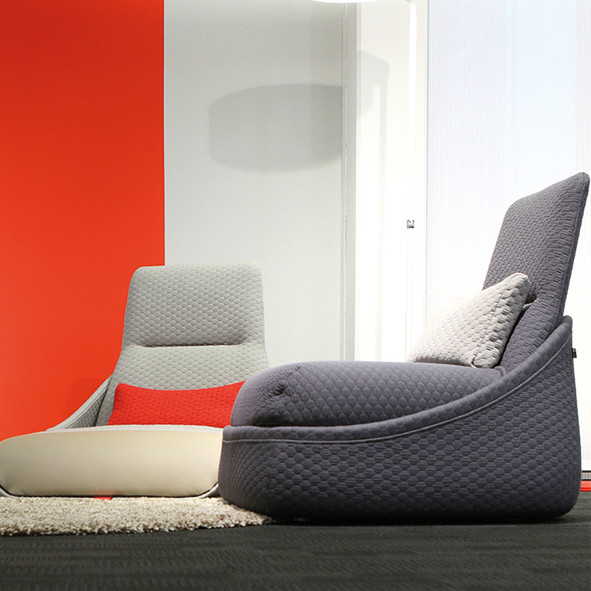 Lounge-Wartezone | Büroeinrichtung - Büroplanung - Innenausbau | WSA