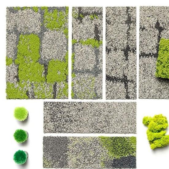 Textile Bodenbeläge | Büroeinrichtung - Büroplanung - Innenausbau | WSA
