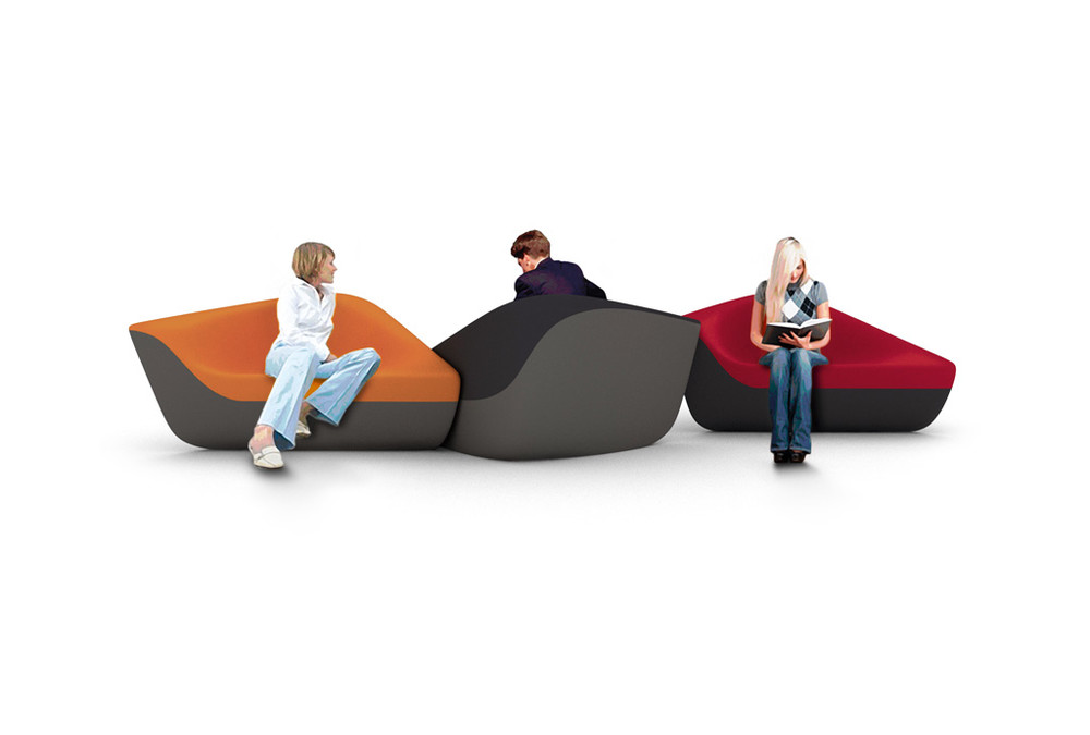 Seating stones | Büroeinrichtung - Büroplanung - Innenausbau | WSA