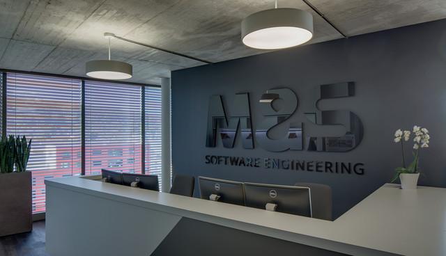 M&S, SCHLIEREN | Büroeinrichtung - Büroplanung - Innenausbau | WSA