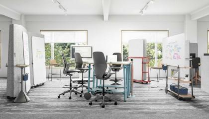 RETHINKING REQUIRES FLEXIBILITY   Büroeinrichtung - Büroplanung - Innenausbau   WSA