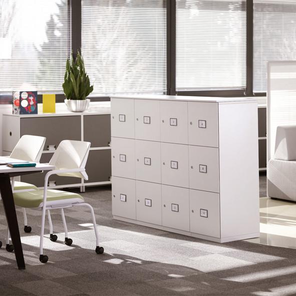 Lockers | Büroeinrichtung - Büroplanung - Innenausbau | WSA