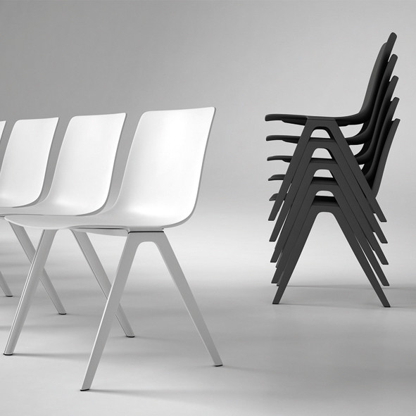Stacking chairs | Büroeinrichtung - Büroplanung - Innenausbau | WSA