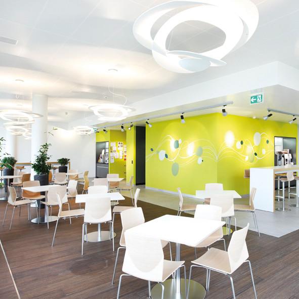 Cafeteria | Büroeinrichtung - Büroplanung - Innenausbau | WSA