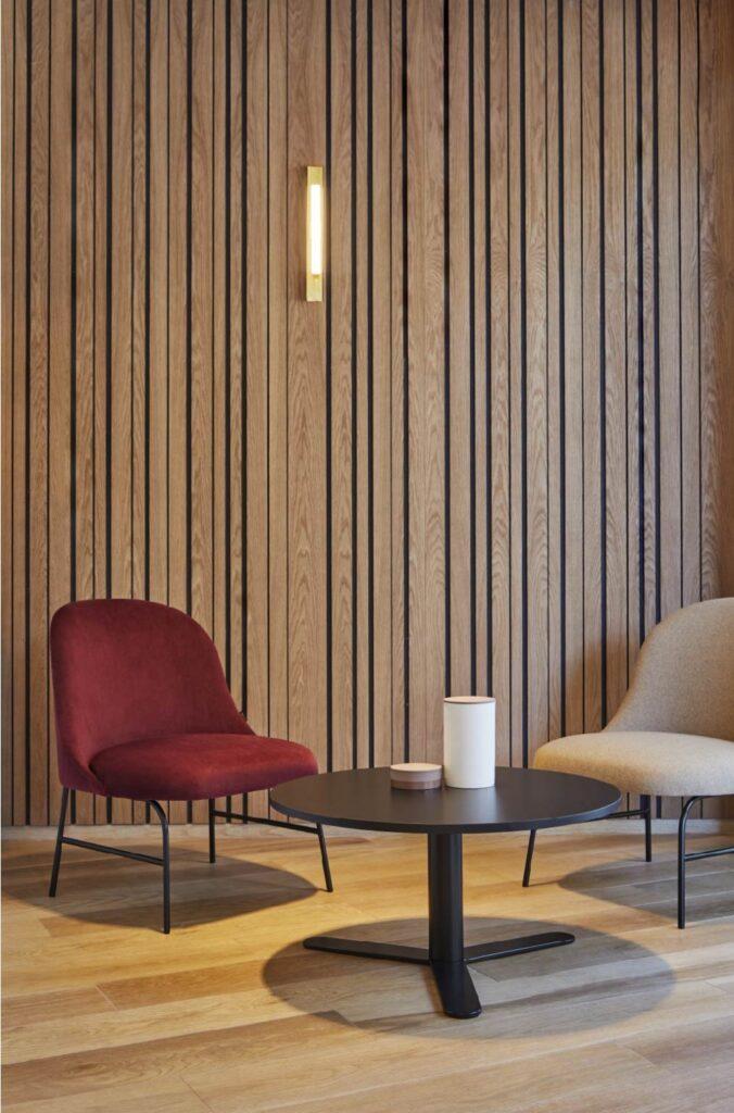 Aleta Lounge Chair | Büroeinrichtung - Büroplanung - Innenausbau | WSA