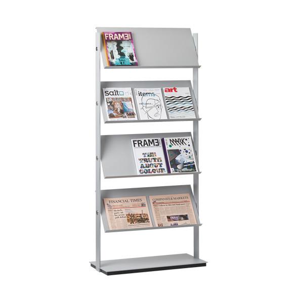 Flexxible large brochure holder | Büroeinrichtung - Büroplanung - Innenausbau | WSA