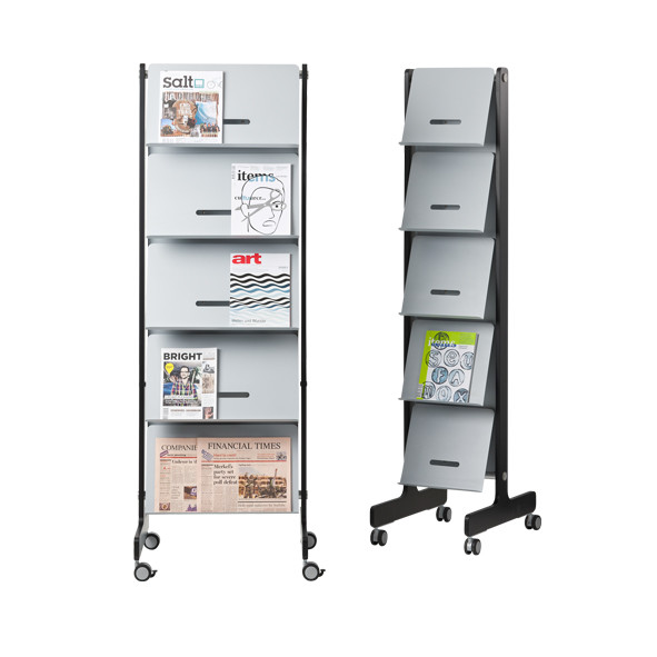 Round20 T brochure holder | Büroeinrichtung - Büroplanung - Innenausbau | WSA