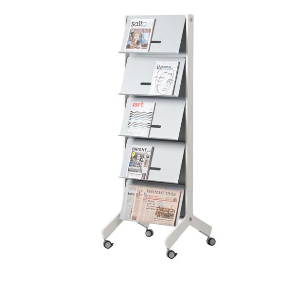 Round20 Y brochure holder | Büroeinrichtung - Büroplanung - Innenausbau | WSA