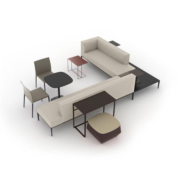 Jaan bench | Büroeinrichtung - Büroplanung - Innenausbau | WSA