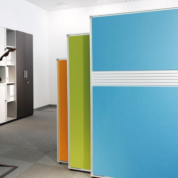 Séparation de l'espace   Büroeinrichtung - Büroplanung - Innenausbau   WSA