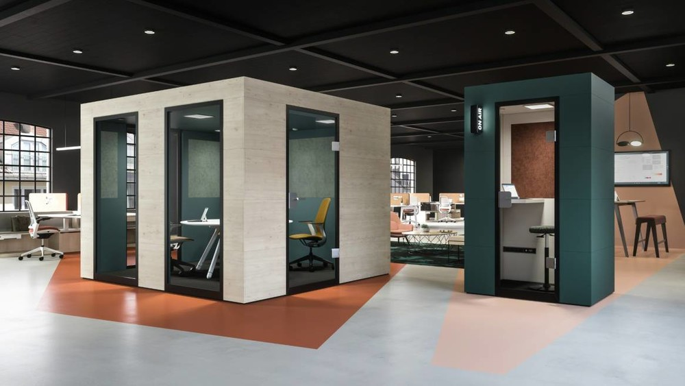 Steelcase Officebricks Cabines Acoustiques | Büroeinrichtung - Büroplanung - Innenausbau | WSA
