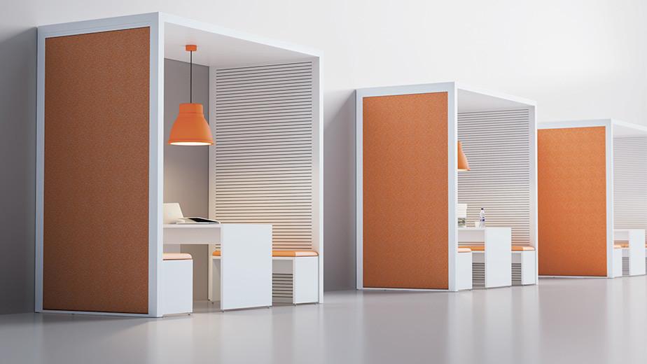 Fantoni Acoustic Room | Büroeinrichtung - Büroplanung - Innenausbau | WSA